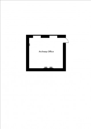 Archway office floor plan