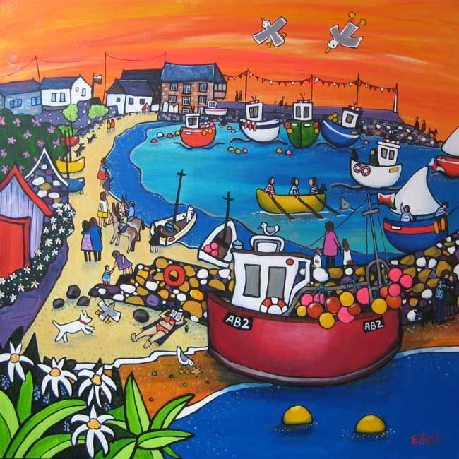 (English) Helen Elliott - Welsh Naive Artists
