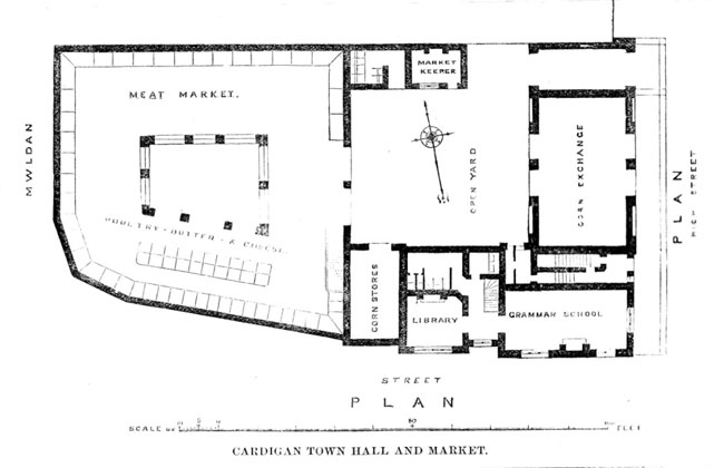Cardigan Guildhall Street Plan