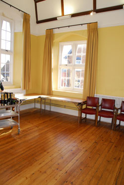 Chamber Cardigan venue for hire